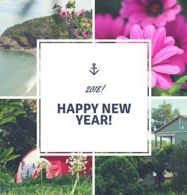 Bonne année 2018 Actualité Camping Les Amandiers