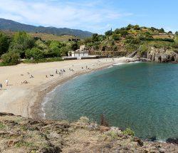 vue plage Camping Les Amandiers
