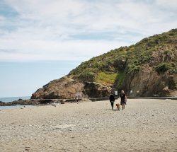promenade plage Camping Les Amandiers