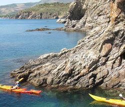 Kayak proche camping Les Amandiers